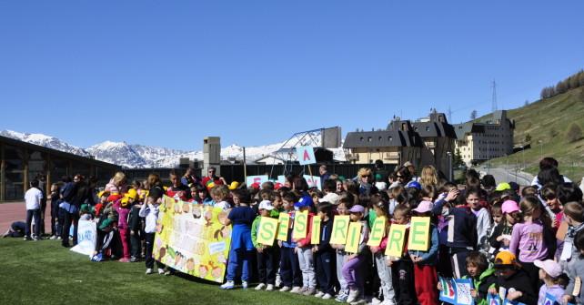 Sestriere: 400 alunni alla giornata dell'atletica
