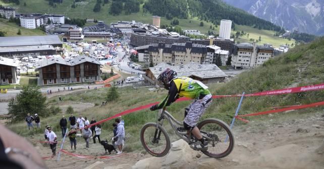 Mountain Bike: Gara Nazionale di Downhill a Sestriere