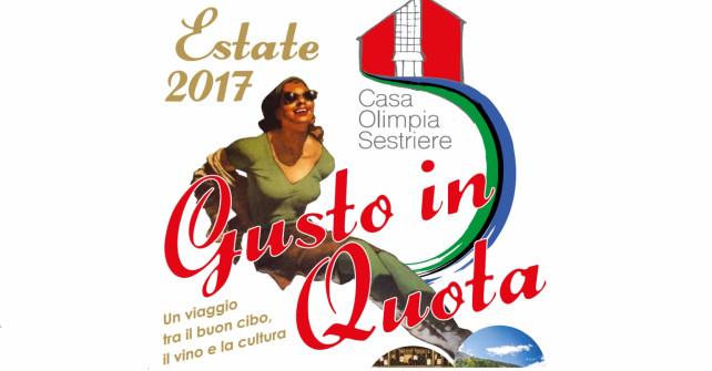 SESTRIERE: GUSTO IN QUOTA A CASA OLIMPIA DAL 4 AL 23 AGOSTO